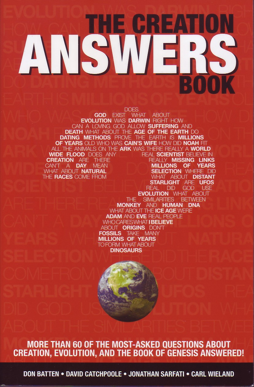 the creation answers book creation engineering concepts